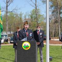 Flag Dedication Service speech