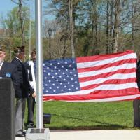 Flag Dedication Service flag