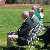 Flag Dedication Service guests
